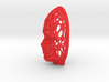 Female Voronoi Face 0.5 Scale 3d printed Female Voronoi Face 0.5 Scale