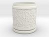 Gift Box No. 1 with Mosaic-3 (solid-filigree high) 3d printed