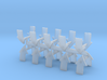 Tactical Team Shoulder Pad icons x20 3d printed