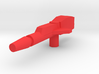 Cloudburst Rifle 3mm handle for Micronus Prime 3d printed