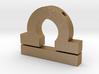 Libra Symbol Pendant 3d printed