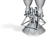 Titan II GLV Engines 1-54 3d printed