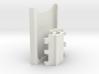 Samsung S6 Edge Plus holder mount to 28mm pole for 3d printed