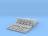 1:160 SW Container Set  3d printed