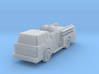 Ford C-Cab Fire Engine II - Nscale 3d printed