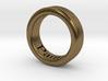 Panta Rhei Ring  3d printed