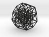 6D Cube Projected into 3D - B6 3d printed
