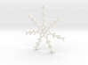 Young Snowflake Ornament 3d printed