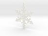 Paper Snowflake Ornament 3d printed