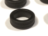 """1/87 Car tyres """"SUV"""" - wheels with profile 3d printed"""