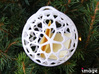 Customizable Christmas Ornament - Hearts 3d printed Use it to wrap a small gift or a personal note