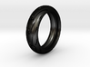 Sportbike tire ring. Size 18.5 mm (US 8 1/2) 3d printed