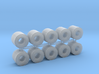 Coil Stahlblech 10erSet - 1:120 TT 3d printed