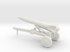 1/200 Scale Launce Missile Launcher Trailer 3d printed