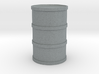 Round Oil Barrel Game Piece 3d printed