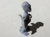 Hitchhiker Alien 3d printed