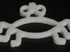 Flying Spaghetti Monster FSM Necklace Pendant 3d printed