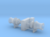 Anchor Winch 1/100 fits Harbor Tug 3d printed