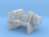 Tug Winch 1/160 N fits Harbor Tug 3d printed