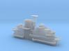 1/525 USS Lexington CV-16 Island 1944-March 1945 3d printed