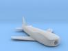(1:285) Messerschmitt Me P.1079/15 3d printed