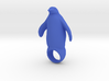 silly big penguin ring SIZE 8 3d printed