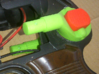 Buttstock release button AGM MP40 3d printed