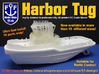 Harbor Tug Hull 1:100 V.40 (Feature Complete) 3d printed