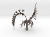 Imperial Moth Orchid for 10cm Maneki Neko Planter 3d printed