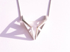 sWINGS Origami Structure, Pendant 3d printed