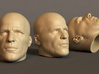 Generic Male Head 1/6 scale figure - Variant 08 3d printed