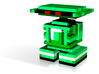 Green Droid Friend 3d printed