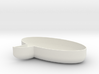 Oval Chat Bubble Bowl 3d printed