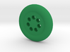 Seven Hole Button 3d printed