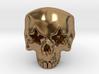 Joker's Star-Eyes Skull Ring - Metals 3d printed