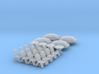 4x SET Gartenmöbel mit Sonnenschirm (N 1:160) 3d printed