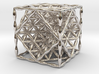 """Flower of Life Hexahedron 1"""" (Cube)  3d printed"""