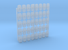 1/192 WW2 Royal Navy Water Tight Doors x40 3d printed 1/192 WW2 Royal Navy Water Tight Doors x40