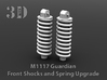 M1117 Guardian Shock and Spring Upgrade 3d printed