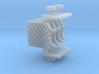 Grid fins for Falcon 9 v1.2 Block 4 3d printed