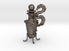 Dragon Vase Oil Lamp with Stopper 3d printed