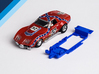 1/32 Scalextric Corvette L88 Chassis for SW pod 3d printed Chassis compatible with Scalextric Chevrolet Corvette L88 body (not included)
