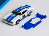 1/32 Scalextric Ford Falcon XB/XC Chassis AW pod 3d printed Chassis compatible with Scalextric Ford Falcon XB or XC body (not included)