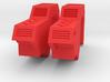 POTP Rodimus Prime or Unicronus shoulder filler 3d printed