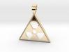 Nuclear danger [pendant] 3d printed
