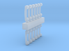 Retro 1/32 miniature scale telephone handles 3d printed