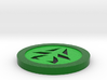 Green Charm 3d printed