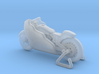 Indian Scout Streamliner     1:120  TT 3d printed