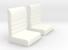 Futurliner Seats 3d printed