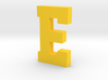 Decorative Letter E 3d printed
